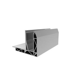 SB-O1 Baseprofile, stainless steel look